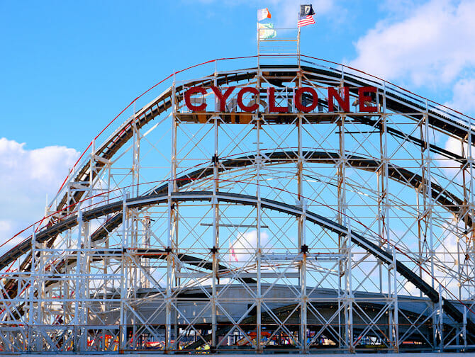 Coney Island in New York - Luna Park