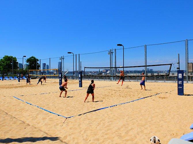 TriBeCa in New York - Beachvolleyball