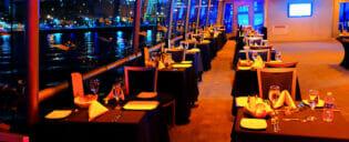 Bootstour mit Abendessen in New York