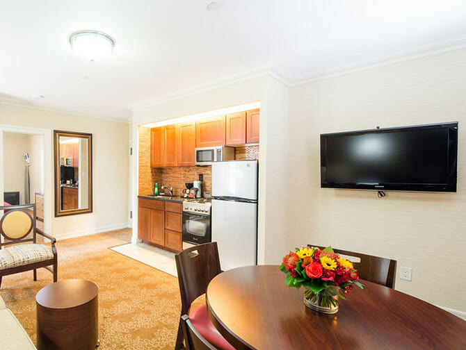 Apartments und Ferienwohnungen in New York - Radio City Apartments Interior