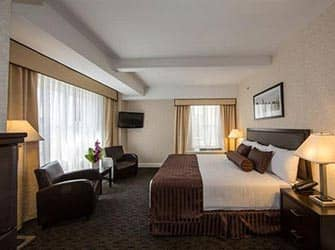 Edison Hotel in NYC - Zimmer