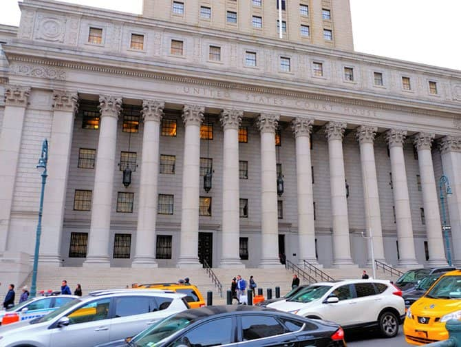Civic Center in New York - Courthouse