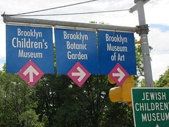 Brooklyn in NYC - Straßenschilder