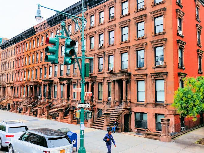 Harlem New York - Brownstones