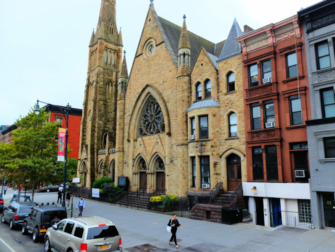 Harlem in New York - Kirche