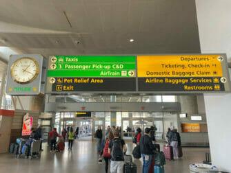 New York Reise Kosten - JFK Flughafen nach Manhattan