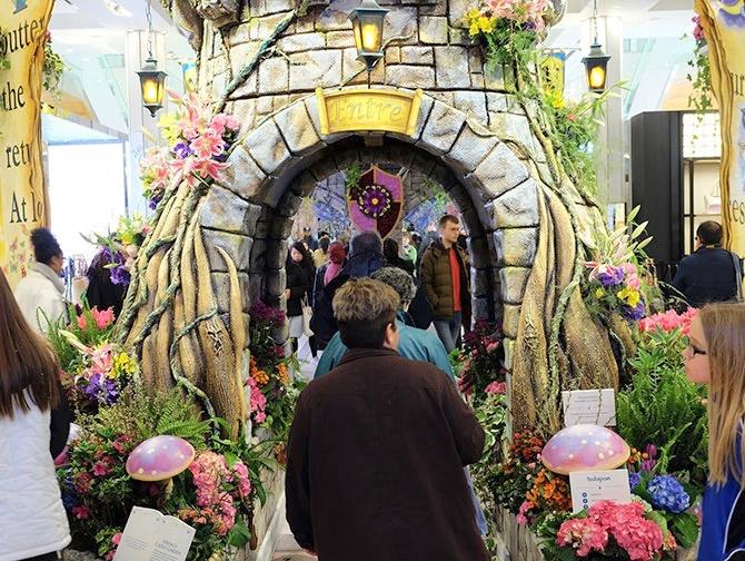 Macy's in New York - Flower Show Dekorationen