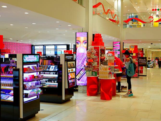 Macy's in New York Ausstattung