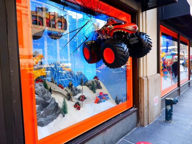 Macy's in New York Schaufenster