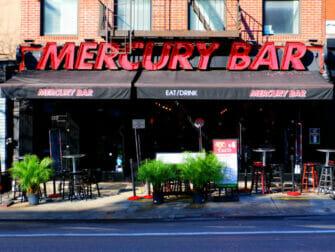 Nachtleben in Midtown New York - Mercury Bar