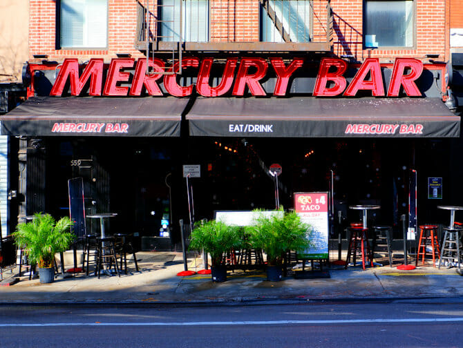 Nachtleben in Midtown New York - Mercury Bar