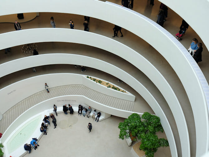 Museum Guggenheim in New York City
