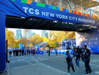 New York Marathon - Ziel