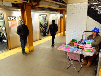 New York Subway (U-Bahn) - U-Bahngleis