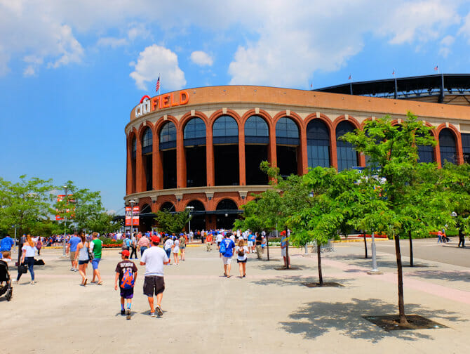 Queens in New York - Citi Field Stadium