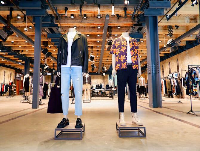 Klamotten new york shoppen günstig