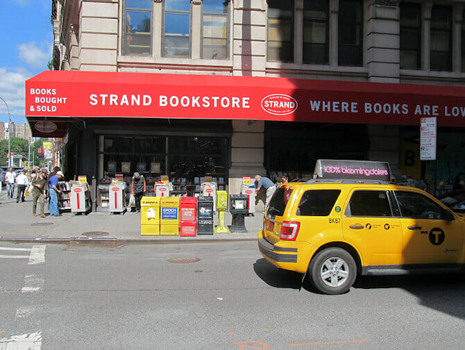 The Strand Bookstore in NYC