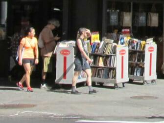 The Strand Bookstore in New York Bücher
