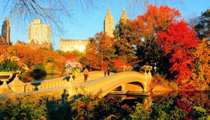 Wetter in New York - Herbst