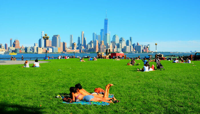 Wetter in New York - Sommer