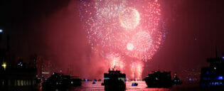 Silvester Bootstouren in New York