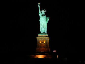 Bootstour am Abend zur Freiheitsstatue - Lady Liberty