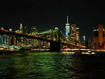 Bootstour am Abend zur Freiheitsstatue - Skyline