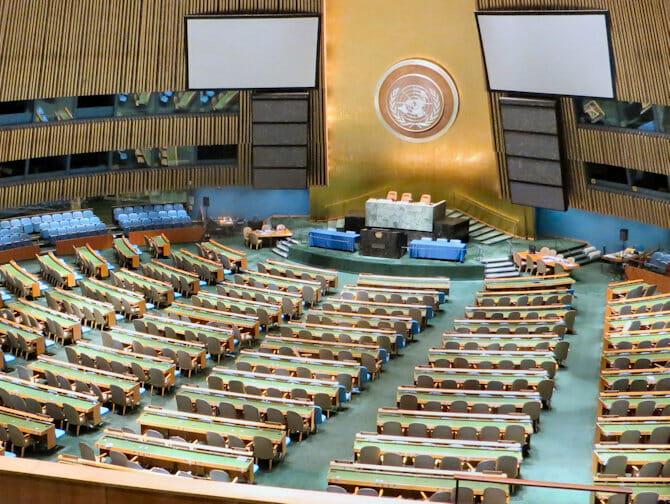 Die Vereinten Nationen in New York