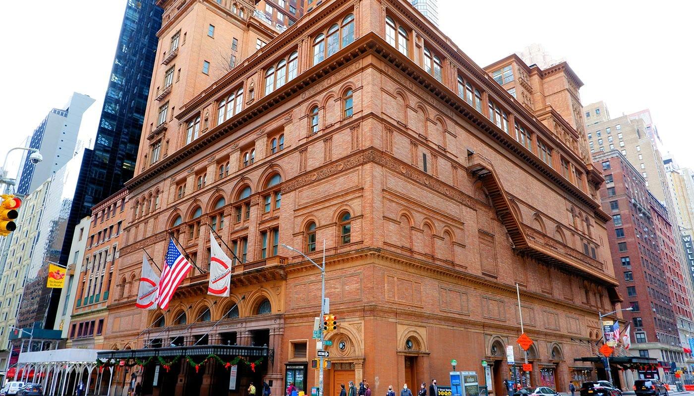Carnegie Hall in New York - Konzertgebäude