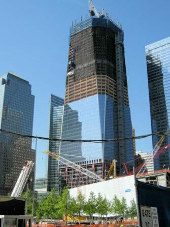 Freedom Tower One World Trade Center - Bau des Freedom Tower