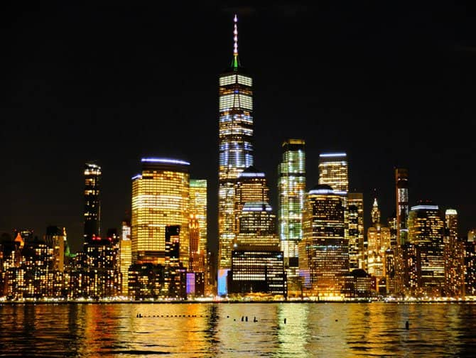 Freedom Tower / One World Trade Center - Nacht