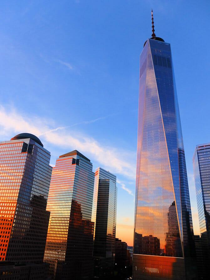 Ground Zero - 9/11 Memorial in New York