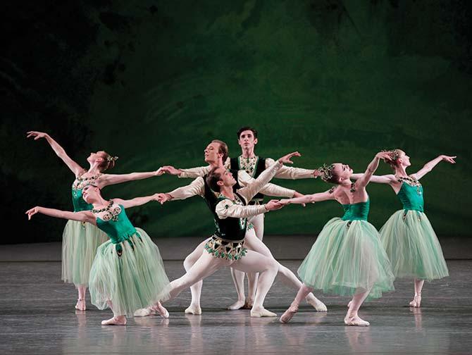 Ballettkarten in New York - Serenade in Grün