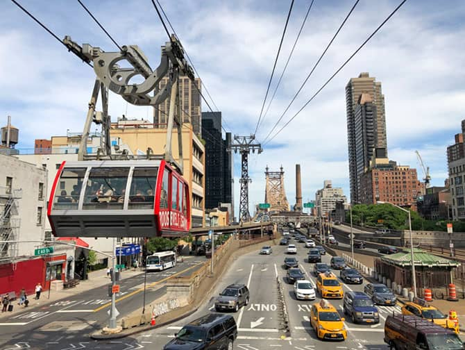 Roosevelt Island Tram New York - Seilbahn