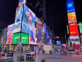 Times Square in New York - Bei Nacht