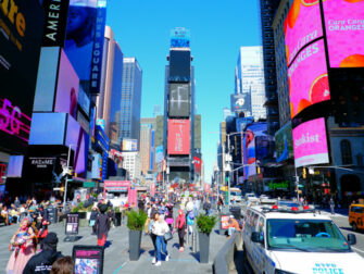Times Square in New York - Bei Tag