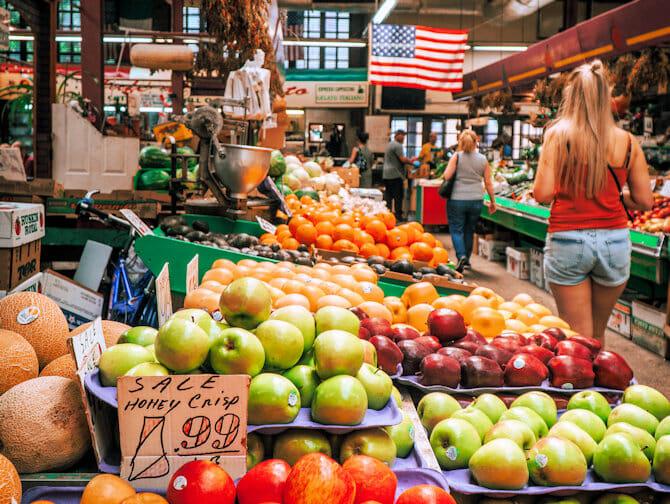 Die Bronx Tour - Italienischer Markt in der Bronx New York