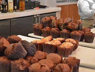 Yotel in New York - Frühstück Muffins
