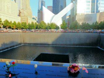 9/11 Memorial am Ground Zero - Rosen