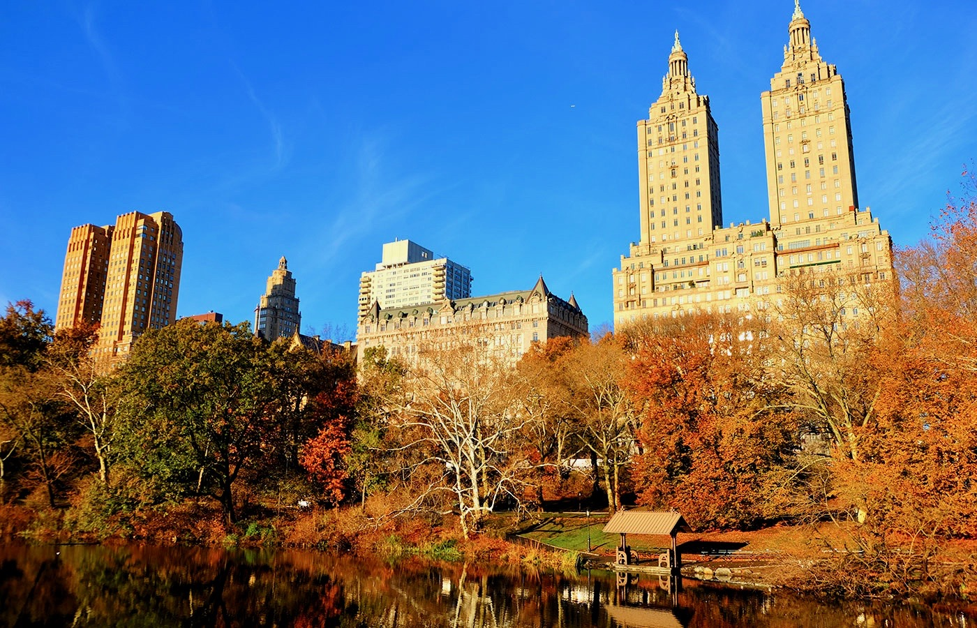Central Park - Herbst