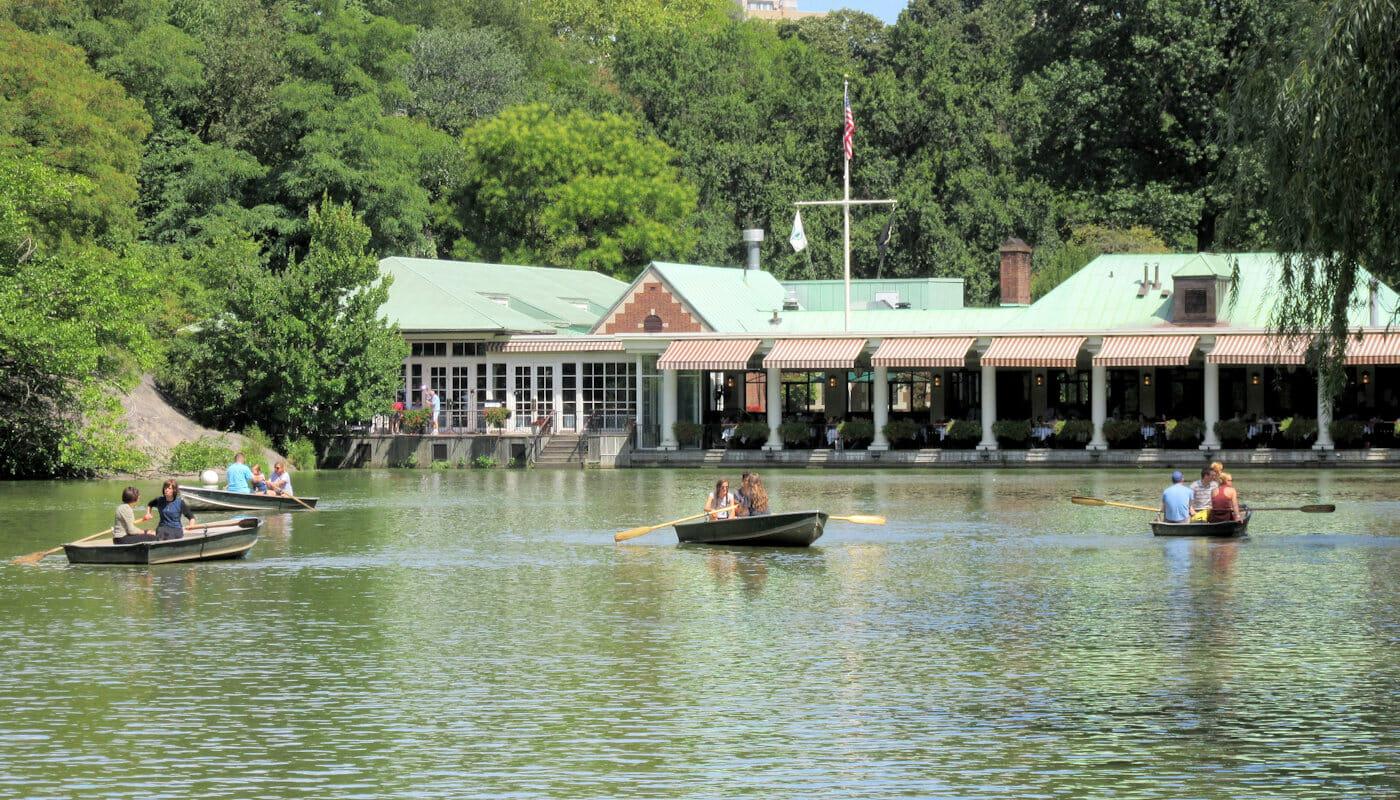 Central Park - Loeb Bootshaus