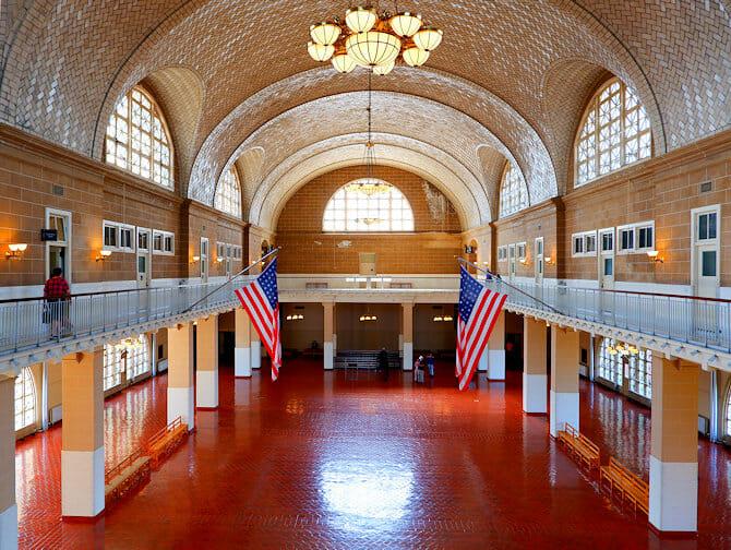 Ellis Island - Registrierstelle