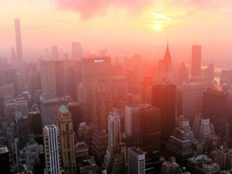 Empire State Building Tickets - Sonnenaufgang East River