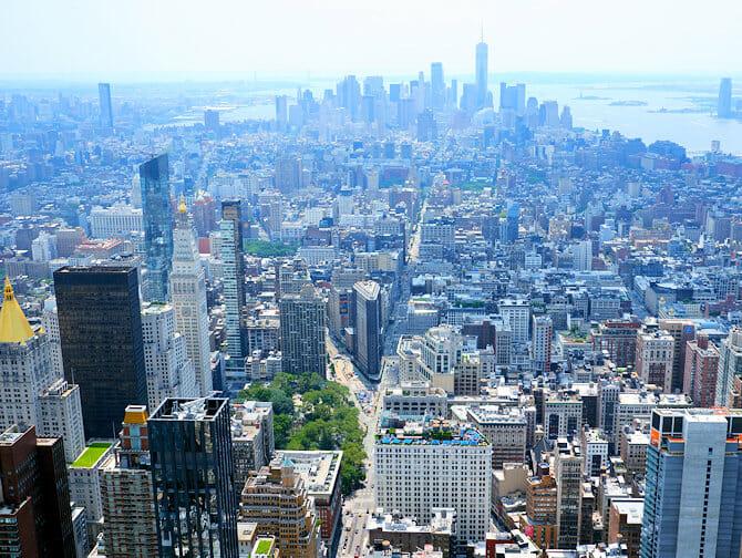 Empire State Building Tickets - Aussicht Downtown Manhattan