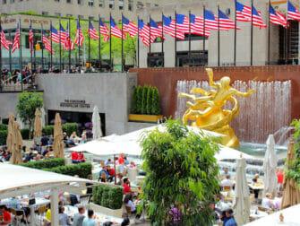 Rockefeller Center in New York - Terrasse