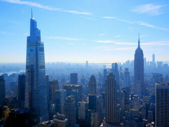 Top of the Rock Tickets - Blick auf das Empire State Building