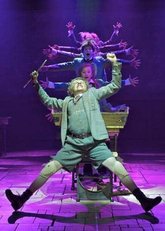 Matilda am Broadway Tickets - Tanz