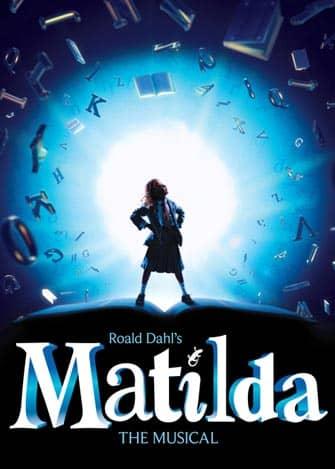 Matilda am Broadway Tickets - Poster