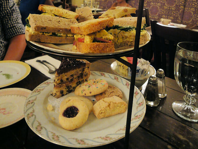 High Tea at Alices Tea Cup in NYC