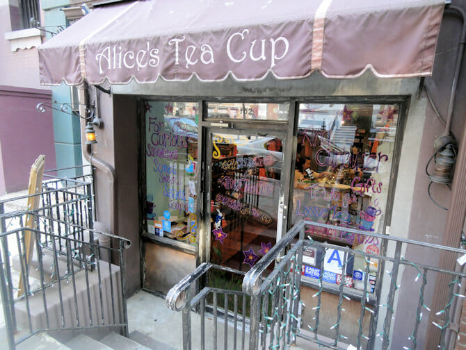 Alices Tea Cup Upper West Side in NYC